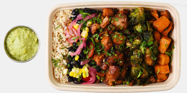 Jerk Chicken Bowl - Healthy Bowls - OE Bowls